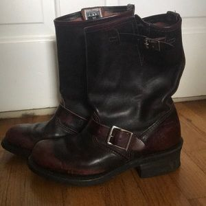 Frye 12r engineer boot